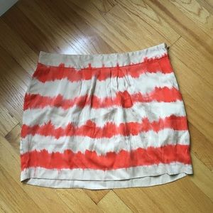 Joie silk mini skirt